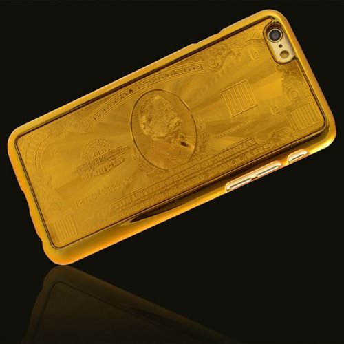 Giggle Beaver $1k Gold Bank Note Phone Case