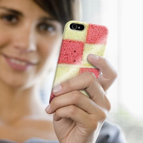 Giggle Beaver Battenburg Cake Phone Case - for iPhone 6