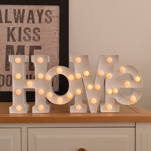Carnival LED Light HOME - White