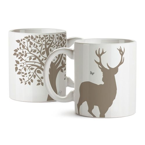 Giggle Beaver Creature Comforts Solemn Stag Mug