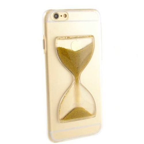 Hourglass Phone Case - Gold
