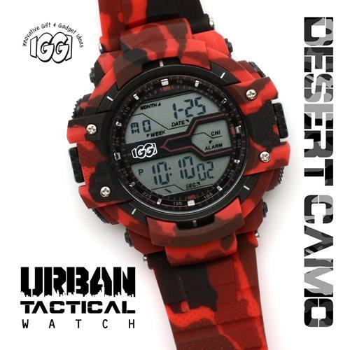 IGGI Urbane Taktische Uhr - Wüstenrot