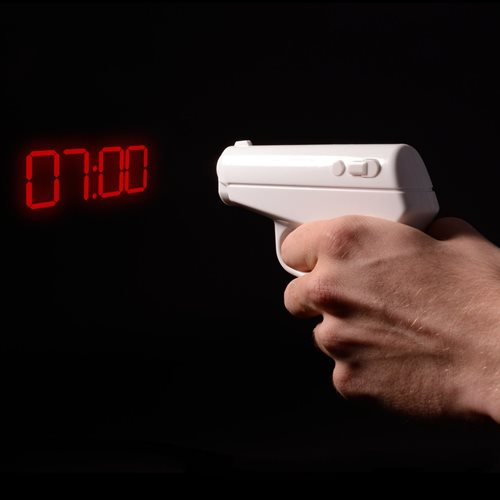ThumbsUp! Secret Agent Alarm Clock Gun