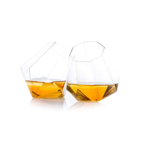 ThumbsUp! Diamond Glass - Set of 2