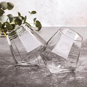 ThumbsUp! Diamant Glas - set van 2