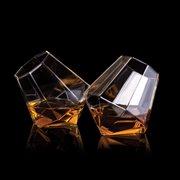 ThumbsUp! Diamant Glas - 2er Set