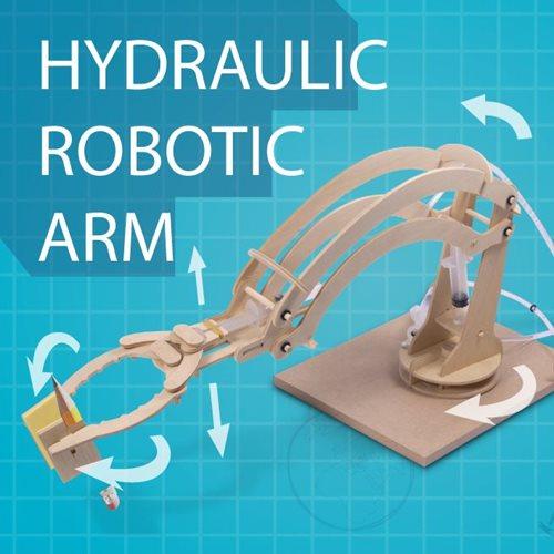 ThumbsUp! Houten Modelbouw - Hydraulische Robot Arm