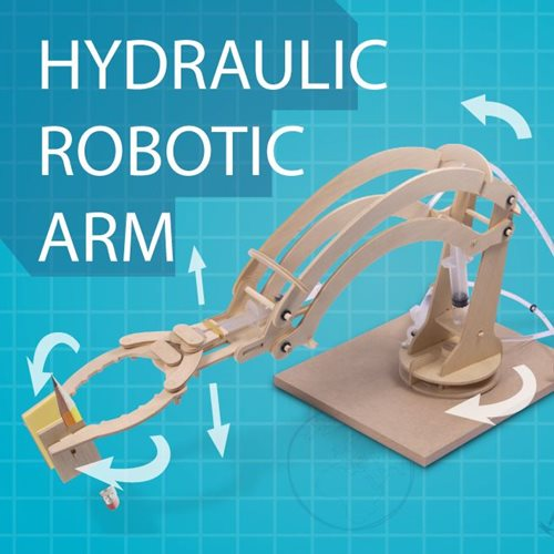 ThumbsUp! Hydraulic Robotic Arm