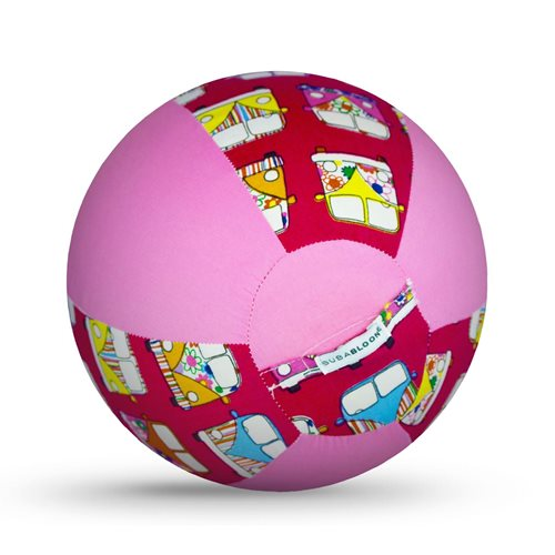 Bubabloon - Hippy Camper Van Pink balloon