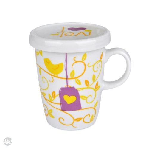 Uatt - Tea Mug - I Love Tea
