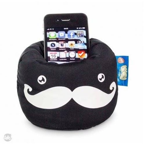 Smartphone Cushion Phone Stand - Mustache