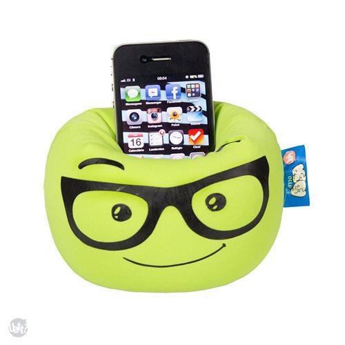 Smartphone Kissen Handy Halterung - Nerd