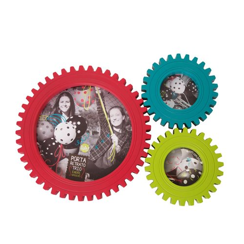 Uatt - Photoframe - Gears Colours