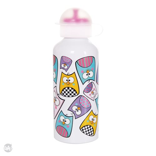 Uatt - Drinking Bottle Squeeze Owl