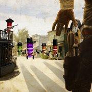 E-my Wein Hüte Flaschen Stopper - Sir Cowboy Violett