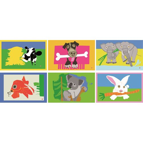 E-my - Set 6 Placemats Circus