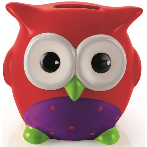 E-my Money Box Alfred- Red