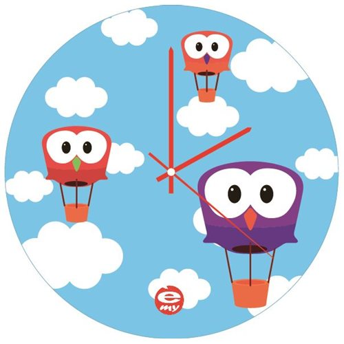 E-my - Carpediem Wall Clock - Sky