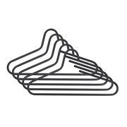 Spinder Design Victorie Clothing Hanger Set of 5 - Black