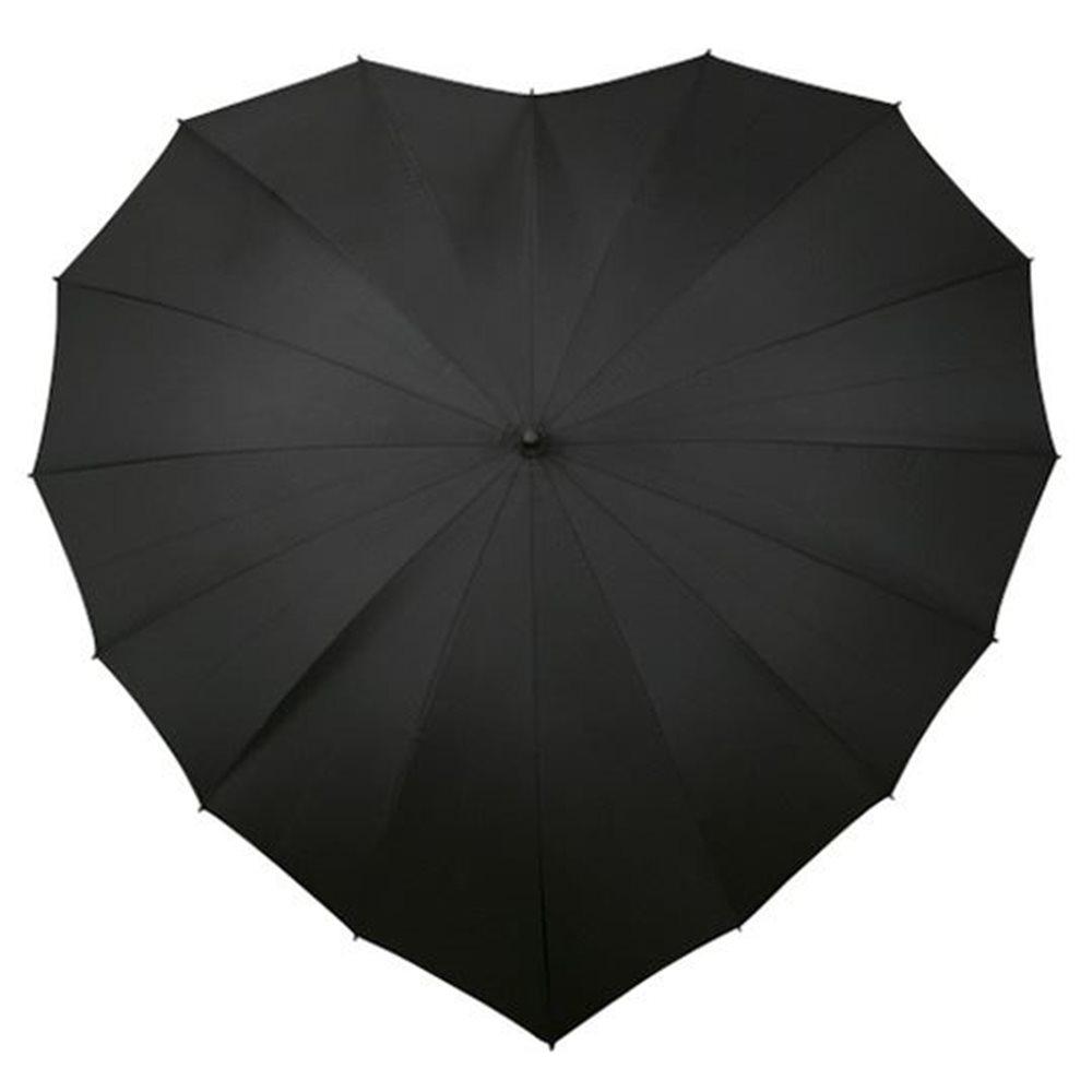 Heart Umbrella - Black