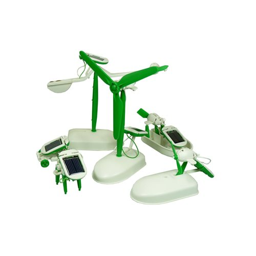 PowerPlus Junior Educatieve Solar 6 in 1 Eco Speelgoed Set - Chameleon