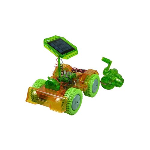 PowerPlus Junior Educational Solar Hybrid Eco Toy Car - Grasshopper