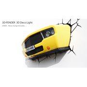 3DlightFX 3D Muscle Car Light (Yellow)