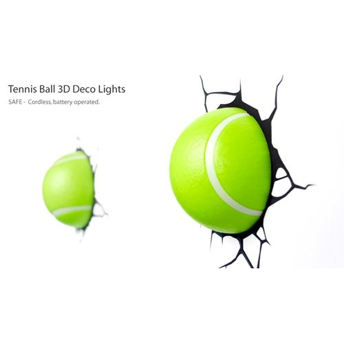 3DlightFX 3D Tennisbal Lamp
