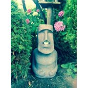 Rotary Hero Big Moai Solar Light