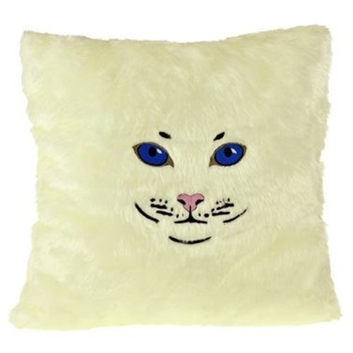 United Entertainment Cat Pillow - White