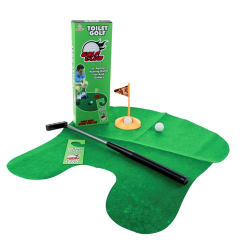United Entertainment Toiletten Golf Set