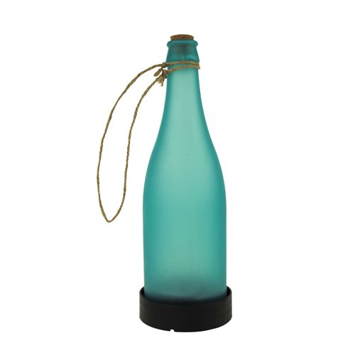 United Entertainment Garten Solar Licht Flasche - Blau
