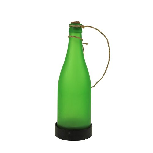 United Entertainment Garden Solar Light Bottle - Green