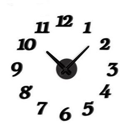United Entertainment DIY Clock - Black