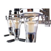 United Entertainment Bar Butler 2 bottles Wall mount Dispenser
