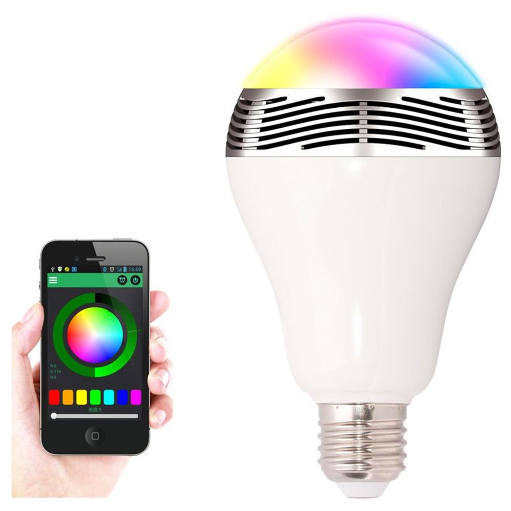 United Entertainment Bluetooth Smart LED Gloeilamp met Speaker