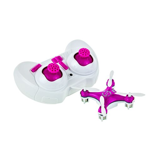 United Entertainment Cheerson CX10 Quadcopter 2.4Ghz 4Channel - Roze