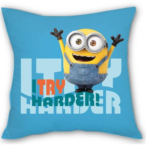 Minions Cushion 1 I Try Harder