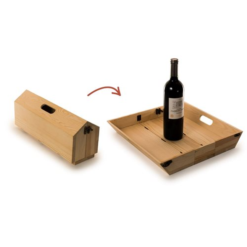 Rackpack Tray Chique - Wine box and Serving tray