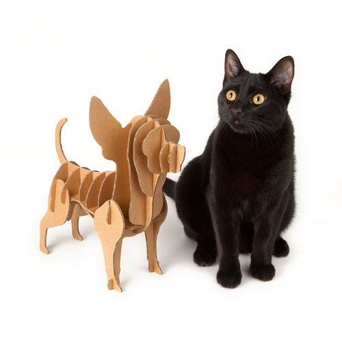 Milimetrado - Chihuahua Cardboard Dog - Decorative Rack