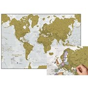 Maps International Rubbel die Weltkarte - Weltkarte - Holländisch