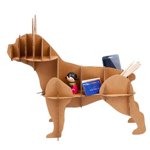 Milimetrado - French Bulldog Cardboard Dog - Decorative Rack