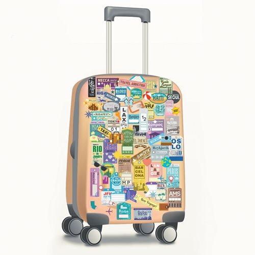 Walplus Home Decoration Sticker - Classic Luggage Labels