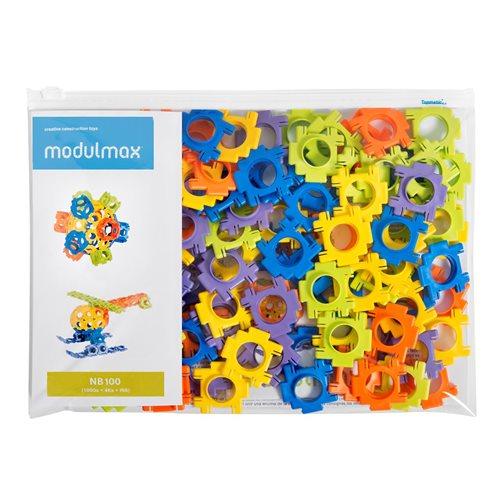 Modulmax Bouwblokken - Zak met 100 stukjes