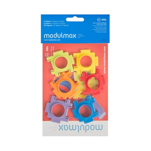 Modulmax Building Blocks - Bag with 6 pieces