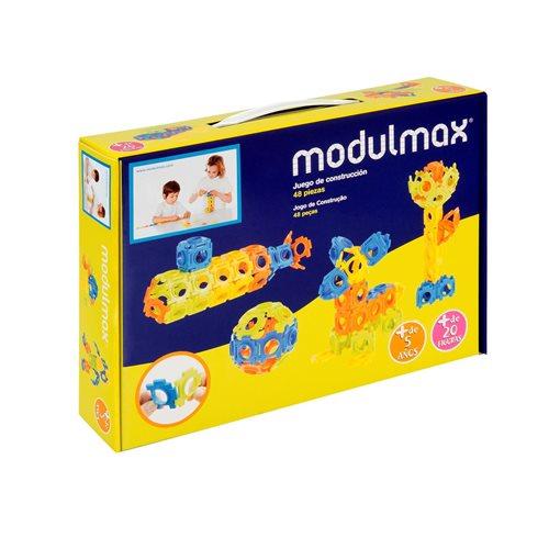 Modulmax Bouwblokken - Doos met 48 stukjes