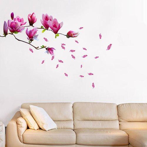 Walplus Home Dekoration Wandaufkleber - Magnolien Blume