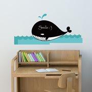 Walplus Chalkboard Decoration Sticker - Whale