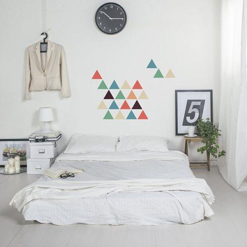 Walplus Home Decoration Sticker - Triangles