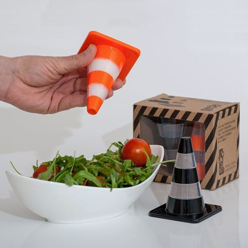 Salt & Pepper Traffic Cones